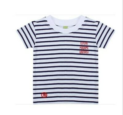 T-shirt marin Future Madame Havraise
