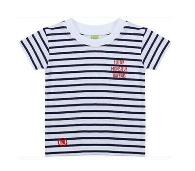 T-shirt marin Futur Monsieur Havrais