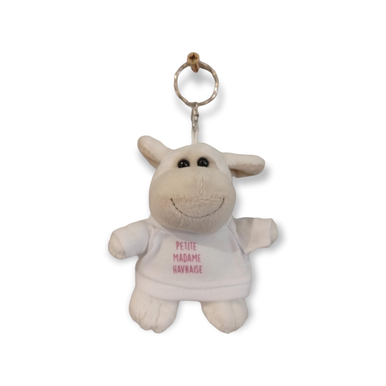 Porte-clés mouton fille