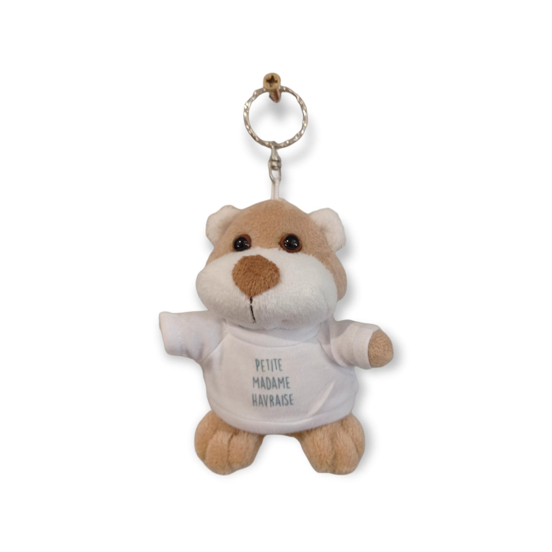 Porte-clés ours fille
