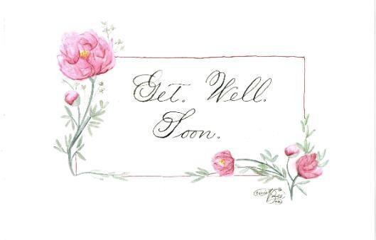 Greetings card from Elisabeth