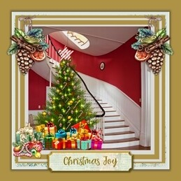 Greetings card from Carol's collection