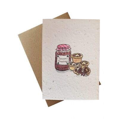 Gift wrap and card set from Carol's collection - paper
