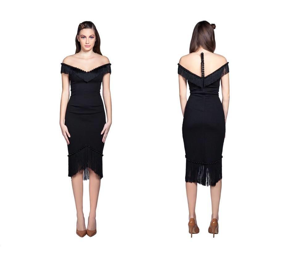 Haljina  Black elegance