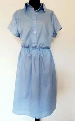 Haljina košulja Sky blue