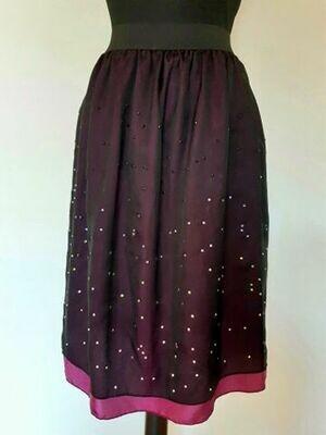 Svilena suknja Crystal