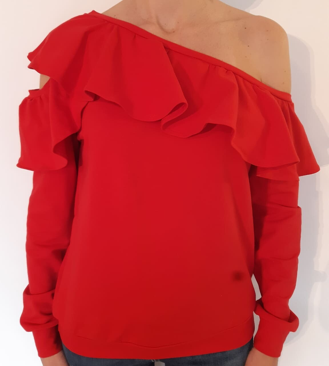 Sweater Isabella red