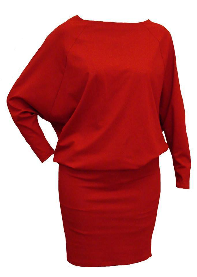 Haljina Sismis crvena