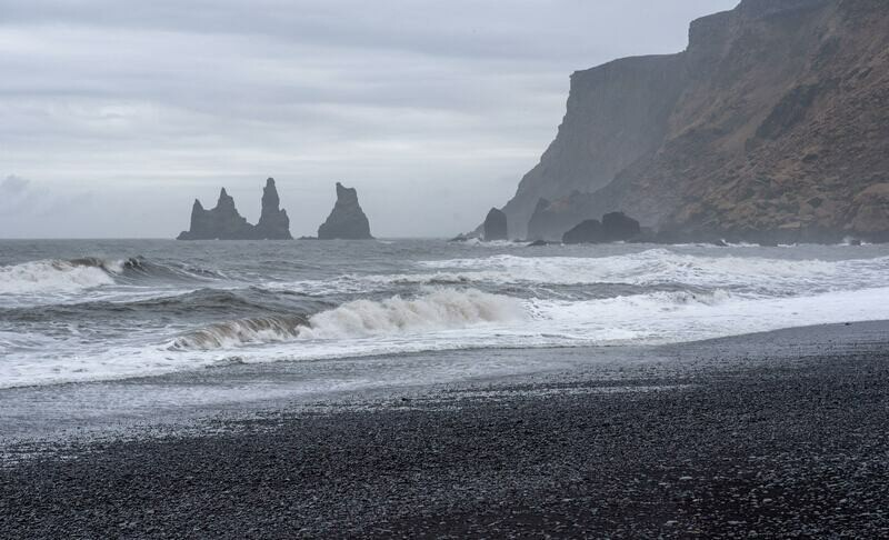 Private South Coast to Vík day tour