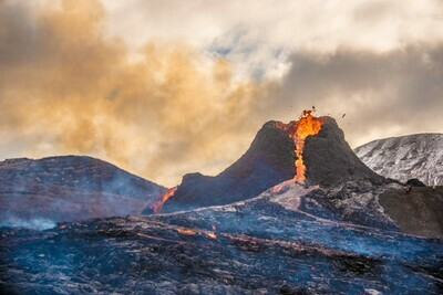 Virtual Volcano and Reykjanes - Interactive Live Guided 360° Video Tour - Tuesday April 15th 2021 at 6:00 PM EST/ 10:00 PM GMT