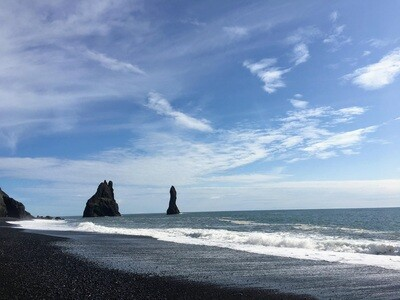 Virtual Iceland South coast - Interactive Live Guided 360° Video Tour - Tuesdays and Thursdays at 7:30 PM EST/ 11:30 PM GMT