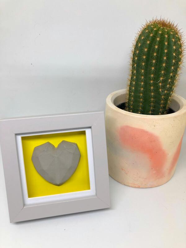 Box Framed Hearts