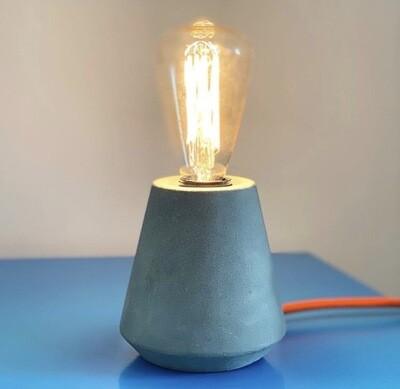 Concrete Cone Lamp