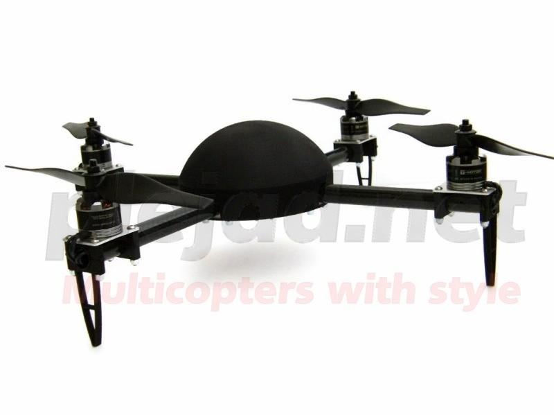 Merope 3D Quadrocopter Set S