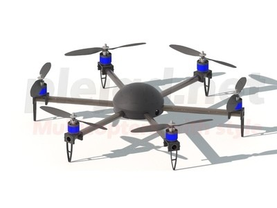 Merope Hexacopter Set S
