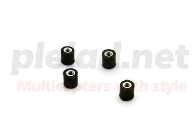 4er Set Vibrationsdämpfer M3x8