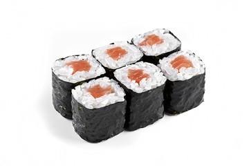 Ролл с копченным лососем (6 шт.)