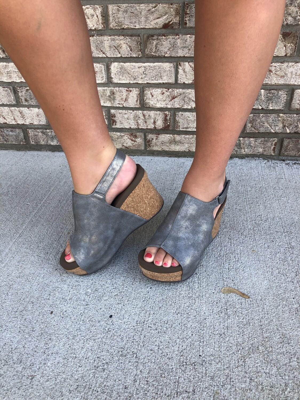Corkys Claudette Wedge Sandal