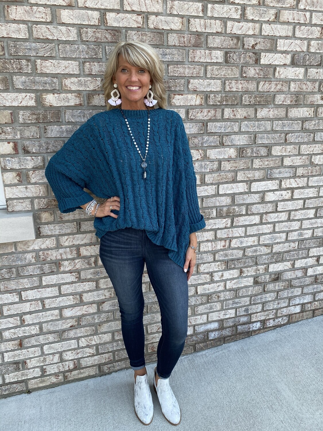 Judy Blue Mid Rise Rayon Skinny Jeans