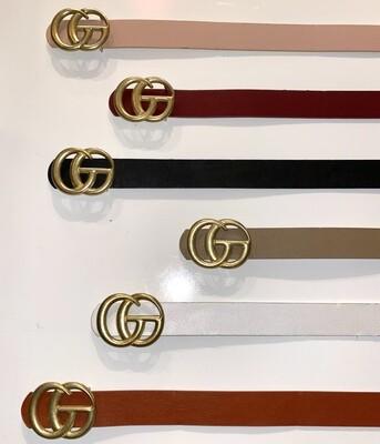 Matte Gold CG Belt