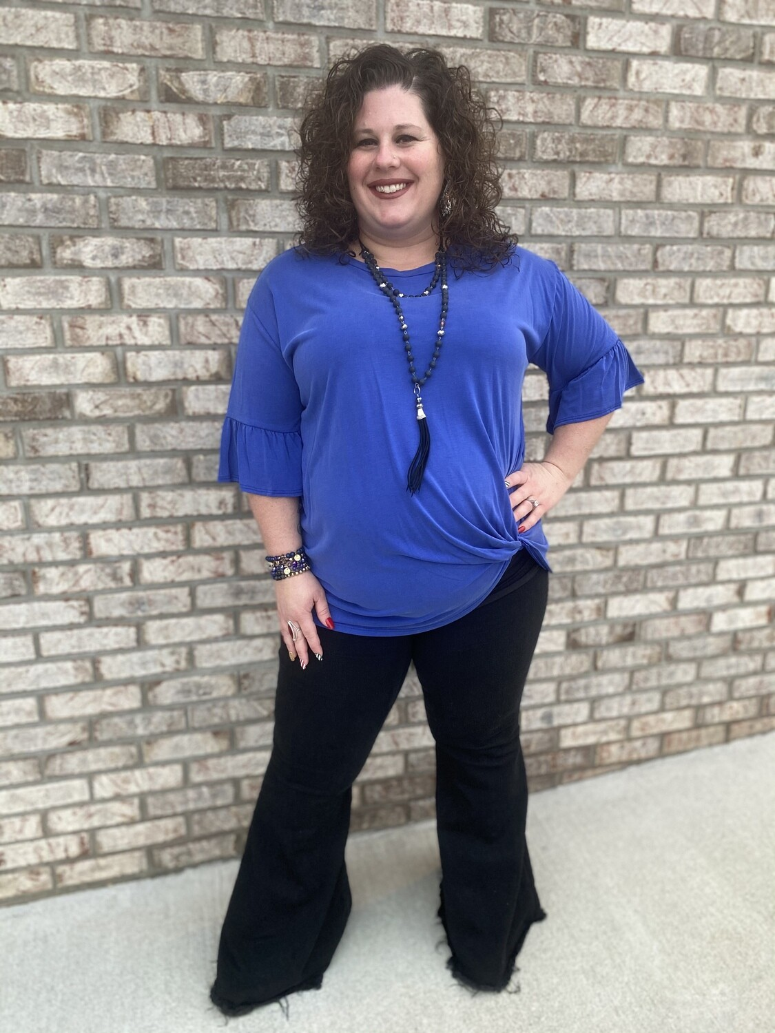 JO Plus Knotted Top