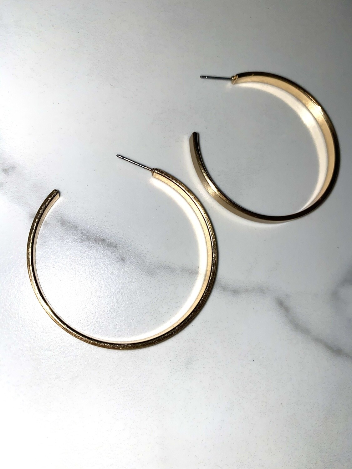 Its Basic Gold Hoops