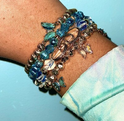 Erimish Blue Butterfly Stack