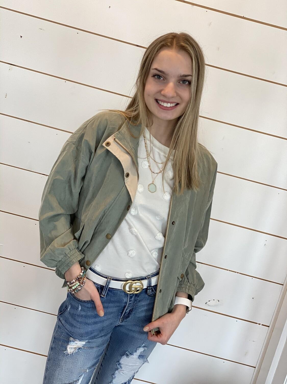 Olive Lightweight Jacket