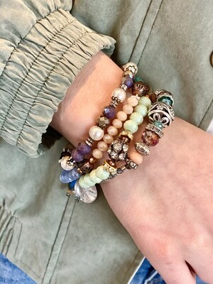 Mixed Beaded Bracelet Set