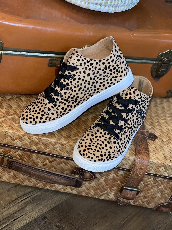 Cheetah Dot Sneakers