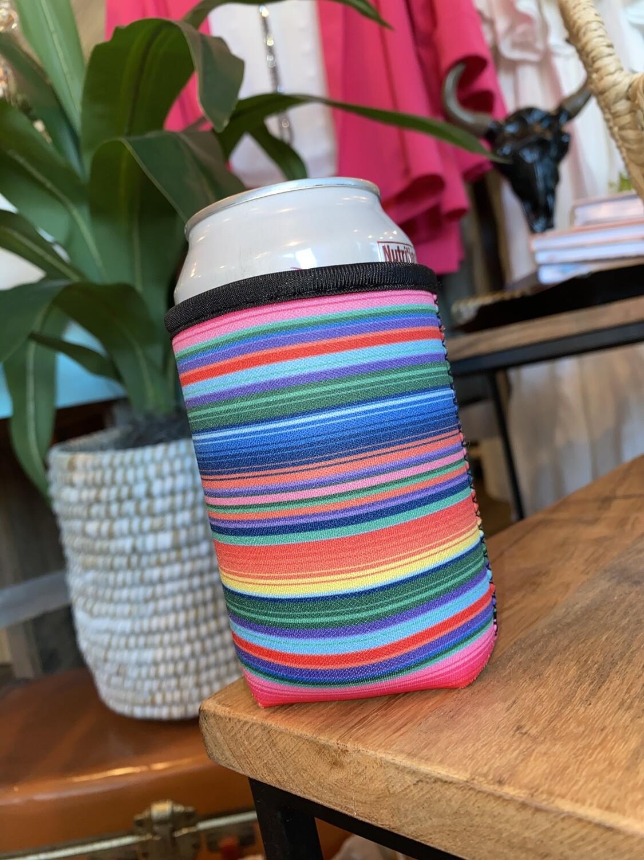 Pink Serape 12oz Cup Handler
