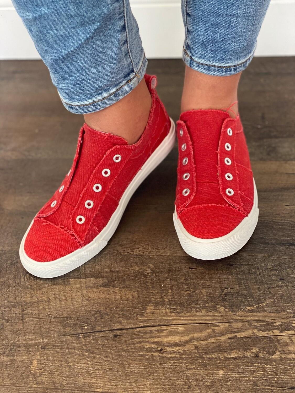 Corky's Red Babalu Sneaker