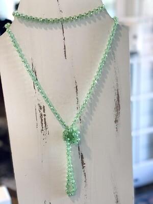 Lime Sparkle Beads