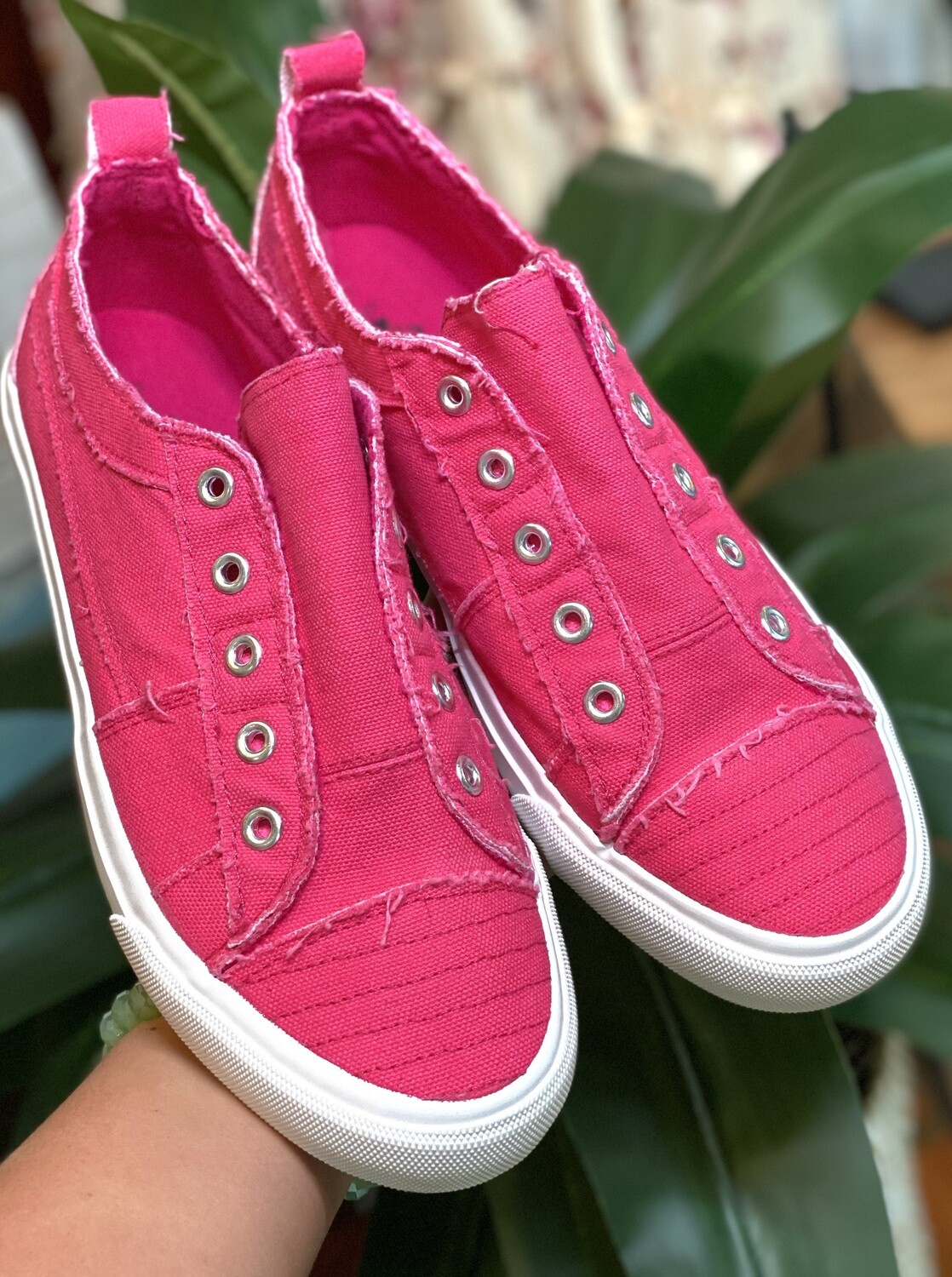 Hot Pink Corky's Babalu Sneakers