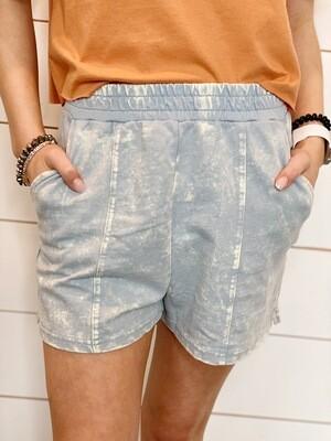 Smoke Blue Lounge Shorts