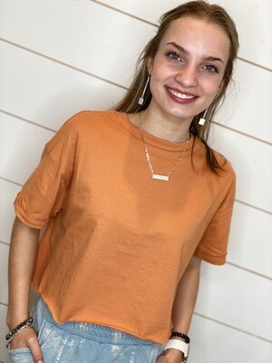 Sienna Cropped Tee