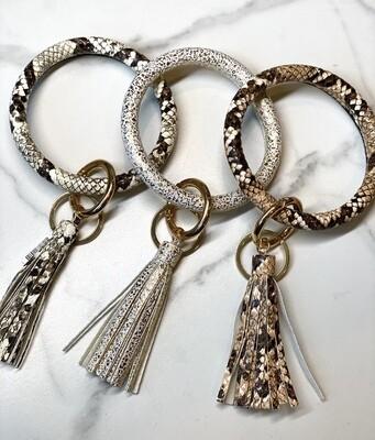 Keychain Wristlet With Tassel
