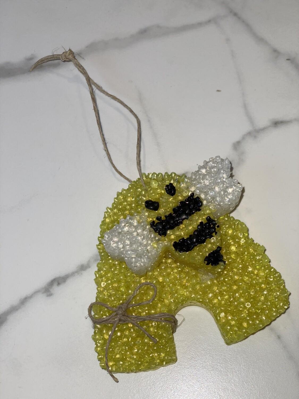 Bee Hive (Coconut Cream) Car Freshie