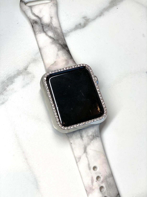 40mm Silver Bling Watch Case