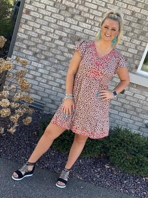 Savanna Jane Blush Embroidered Dress