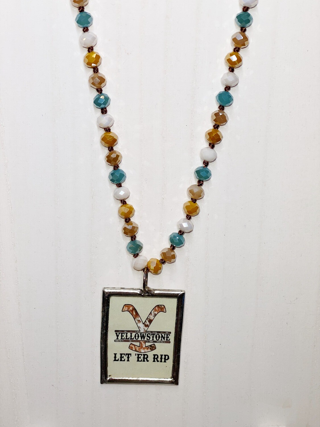 Mixed Bead Let Er Rip Necklace