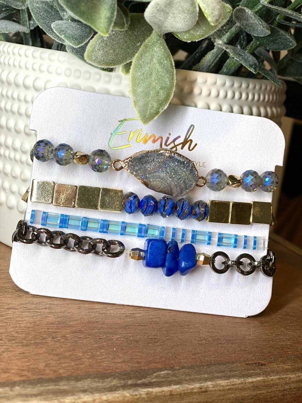 Erimish Blueberry Razzle Dazzle Carded Stack