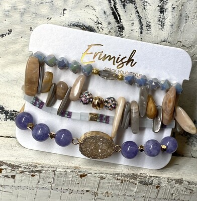Erimish Lavender Love Carded Stack