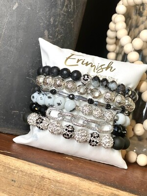 Erimish Midnight Pillow Set