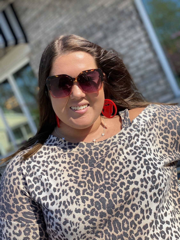 Blush Tortoise Allure Sunglasses