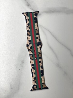Designer Inspired Cheetah Watch Band