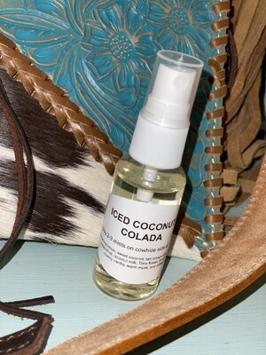 Iced Coconut Colada Car Scent