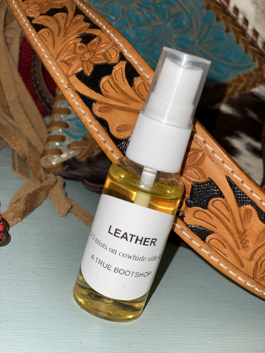 Leather Car Scent