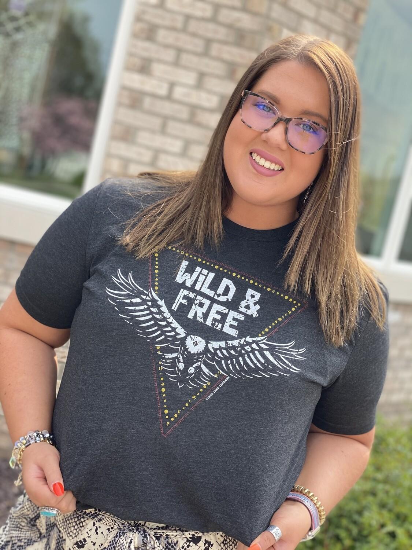 Wild & Free Eagle Tee