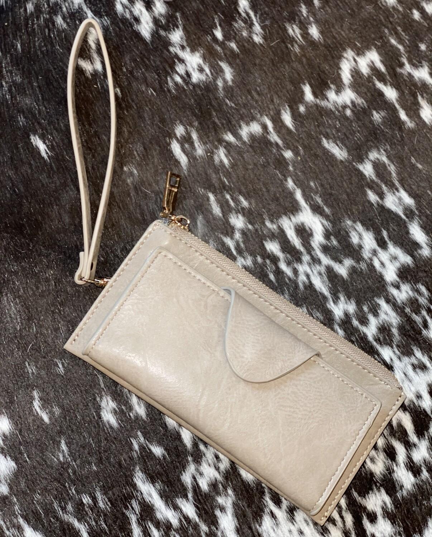 Warm Grey Kyla Wallet